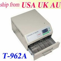 AUTOMATIC T962A INFRARED IC HEATER INFRARED REFLOW OVEN MACHINE SMD BGA 300*320 MM PROFESSIONAL DIGITAL CONTROL