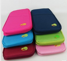 Cheap Discount Storage bag travel day clutch card holder wallet coin purse finishing document bill bag free shipping