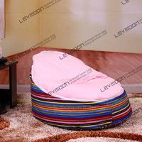 FREE SHIPPING bean bag chair with 2pcs bright pink up cover baby bean bag cover bean bag seat kid's bean bag furniture