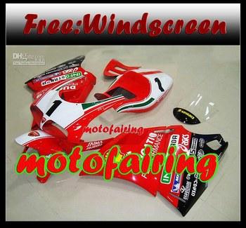 motofairing -Free shipping custom number bodaywork fairing kit for 1993 - 2005 DUCATI 748 916 996 99