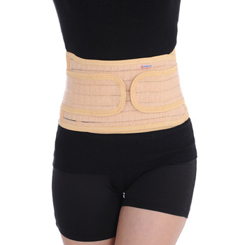 Bamboo charcoal fiber breathable type magnet pressurization waist support sports waist support fitness belt