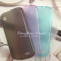 Free Shipping (20pcs/lot) TPU Matte soft case for Lenovo A800 case cover