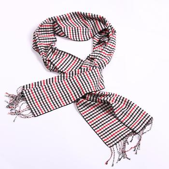 Free shipping Needle fashion small square van grid classic fashion tassel scarf zzm1205