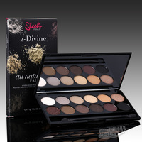 Pig humph less sleek 12 mineral eye shadow plate 601 classic chocolate earth color limited edition natural