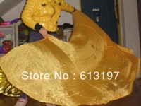 silk veil gold color  , belshipping best price with good material and nice color