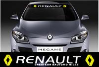 Windshield Decoration Racing decal sticker Emblem Renault Megane Scenic Fluence Car styling sticker