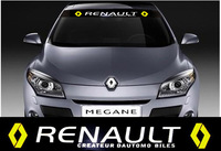 Windshield Decoration Racing decal sticker Emblem Renault Megane Scenic Fluence Car styling sticker