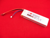 7.4v30c6000mah 5c large big fast charge f e traxxas