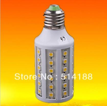20pcs/lot 12V 11W E27 LED corn Lamp SMD 5050 LED lamp Led Lighting free shipping CE&RoHS(China (Mainland))