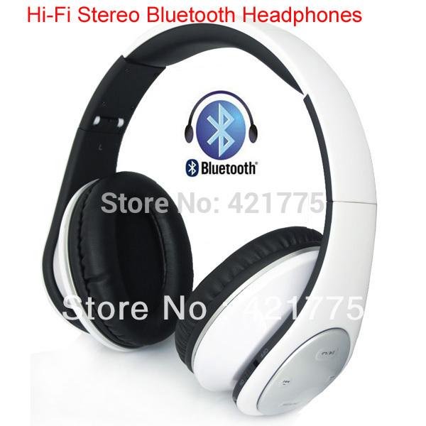 Привет Fi Hifi стерео Bluetooth для беспроводной наушники микрофон сабвуфер