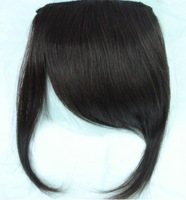 Free shipping! Hair oblique bangs wig fringe hair piece real hair thickening fringe curtain hair