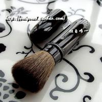 Oriental princess sable makeup brush retractable powder brush with lid powder blush brush makeup tools