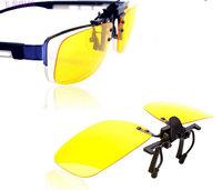Night vision glasses polarized lenses clip,clip myopia sunglasses sunglasses clip fishing glasses
