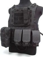 Tactical vest WIRE-STEEL-IN Black