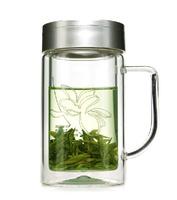 Fuguang  cup  320ml   700B-320  elegant  double wall glass coffee mug