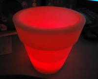 Luminous vase led vase small circle lightmindedness ,