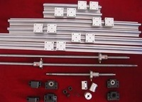 2set SBR16-400mm +4 set SBR20-900/1400mm linear rail sets + 3 set RM2005-400/900/1500mm Ballscrews + +3 BK/BF15 +couplers