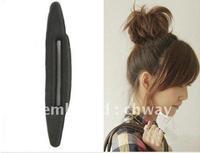 Sale (17cm * 5cm ) 2014 Hot Selling Sponge Hair/Disk/Tool/ Roller/ Bun Ring,  girl accessories, DW0219, Wholesale