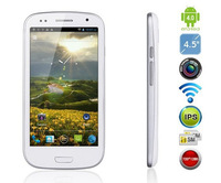 CDS CD1000 smart cellphone 4.5inch IPS Capacitive 1280x720 pixel MTK6577 dual core 1GB 4GB Dual camera 5.0MP Bluetooth GSM WCDMA