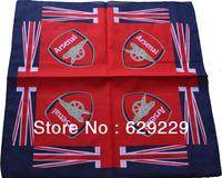 "Arsenal Football Club  emblem flag 100% Cotton hiphop rap bboy Bandana wrap scarf wristb Headband 22""*22"" Free Shipping"