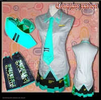 VOCALOID Hat Sune Miku Cosplay Costume Custom made Fast shipping