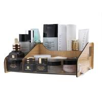 FreeShipping Acrylic crystal cosmetics storage box storage box desktop Large wool storage drawer