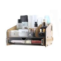 FreeShipping Diy acrylic cosmetic desktop storage box storage box storage Large wool single drawer