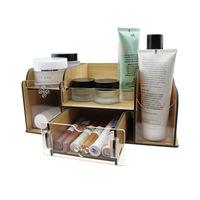 FreeShipping Wool cosmetics storage box storage box desktop acrylic wool Large storage drawer