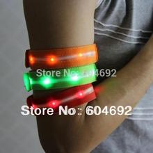 New Reflective Flash Armband Wrist Ankle Belt Band Flexible Safety LED Visible dropshipping Free SL00314