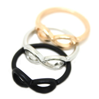 Sunshine jewelry store fashion infinity ring j333 ( min order $10 mixed order ) Hot-selling