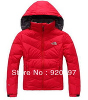 freeshipping New model winter Thickening warm Women down jacket Woman down coat Removable  Hood
