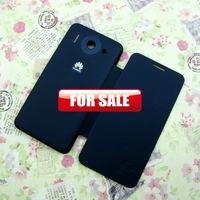 50pcs Fashion Popular Back Cover Flip Leather Case Battery Housing Case Cover For Huawei Ascend G510 T8951 Flip Case  (HW56)
