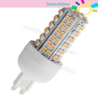 G9 80 SMD3528 LED Corn Light Warm White SMD3528 Bulb Lamp 200V-240V/4W 11998