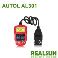 Autolink AL301 100% Original Auto Code Scanner auto code reader Autel Autolink AL301 AUTO scan tool update on official website