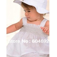 Free Shipping Baby Girls Ruffled Top+Pants+Hat Set 3 Pieces Outfit Costume Kids Clothes 0-3Y DropShipping XL042