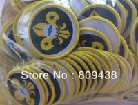 WHOLESALE fish woven patches,1000pcs/lot,sew on backing,merrow border,free shipping,factory stock!
