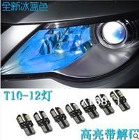 New Arrival  T10 Car Marker lamps ERROR FREE  12SMD 5050 LED SIDE LIGHT BULB 6pcs/lot