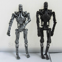 "Free Shipping New 2pcs 3.75"" The Terminator T-800 Endoskeleton Action Collectible Figure"