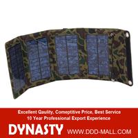 7w Portable Solar Panel Bag Solar Panel Folding Bag rollable/folding solar panels PVC waterproof fabric for all digital qu