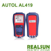 Autolink AL419 100% Original Auto Code Scanner auto code reader Autel Autolink AL419 AUTO scan tool update on official website