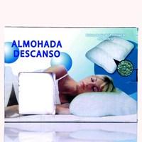 Almohada descanso foam particles pillow health care pillow sleep pillow tv product