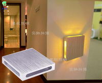 Modern brief multicolour beijingqiang 12v led wall lamp sconce salon walls wall sconces modern bed led light sconce