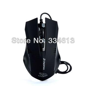 USB 2./3.0  800/1600/2400/3200 DPI Mice High Speed Ergonomic Designed Optical Wheel Game Gaming Mouse Free Shipping