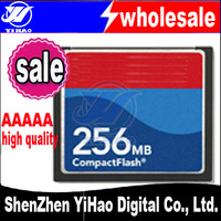 FREE SHIPPING+Wholesale High quality 30PCS/LOT Full capacity Compact Flash CF Card 128M 256MB 512M 1GB 2GB