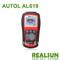 Autolink AL619 100% Original Auto Code Scanner auto code reader Autel Autolink AL619 AUTO scan tool update on official website