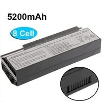 Free Shipping 5200mAh 14.6V 8 Cell Battery Pack for ASUS G53 / G53JQ / G53SX / G73 / Lamborghini VX7SX / VX7S