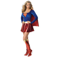 6737 -  Women's Sexy Superman Costume Halloween costumes