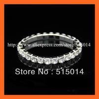 Free Shipping ! brilliant One Row Rhinestone Napkin Ring,Bracelate ,Rhinestone Buckle For Wedding  Decoration