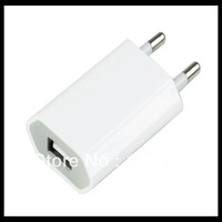 Portable USB Wall Home Charger AC Adapter EU Plug for Apple iPhone 4 4G 4GS 4S
