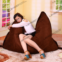 FREE SHIPPING 140*180CM bean bag chair cover coffee bean bags no filling beanbag sofa cover bean bag covers only
